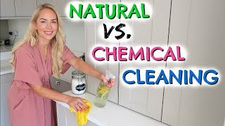 TESTING CHEMICAL VS. NATURAL CLEANING PRODUCTS + DIY CLEANING HACKS  |  EMILY NORRIS