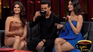 Koffee With Karan 6: Tiger Shroff Calls Ananya Panday And Tara Fake