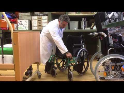 La boutique de la Salud. Presentación silla de ruedas plegable