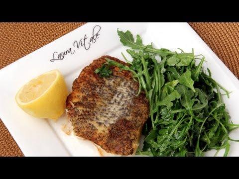 Seared Sea Bass Recipe – Laura Vitale – Laura in the Kitchen Episode 269
