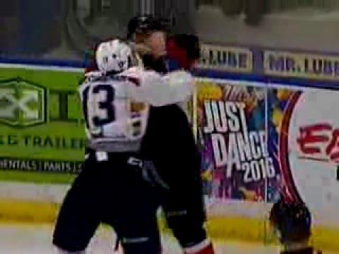 Wyatt Sloboshan vs. Colby McAuley