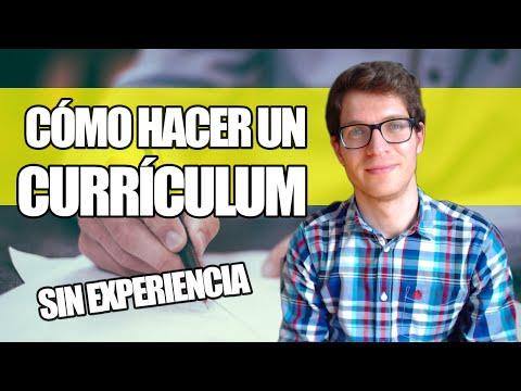 Cómo Hacer Un Currículum Sin Experiencia Laboral  miniatura