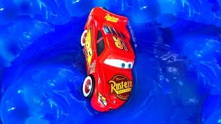 Disney Cars Toys Lightning McQueen  Rayo McQueen Juguetes Carros Bringuedos Slime