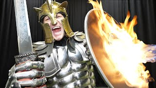 Can You Destroy A Real Knights Armor?
