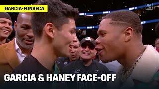 Ryan Garcia & Devin Haney Face-Off, Exchange Words Ahead of Potential Fight