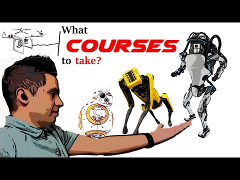 Top 5 Courses to take to become a Robotics engineer - YouTube