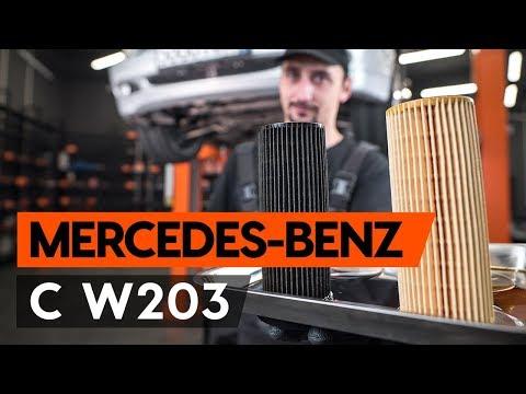 Ölwechsel MERCEDES-BENZ С W203 (wie Motoröl und Ölfilter wechseln) [TUTORIAL AUTODOC]