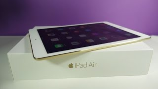 iPad Air 2 Unboxing & Initial Setup / Configuration