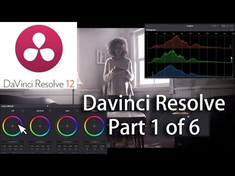 Davinci Resolve 12 Basics Part 1 of 6 Sending a project to Resolve ...