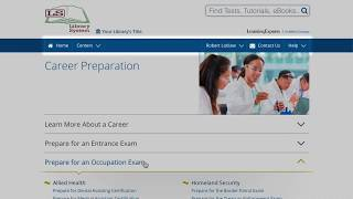 EBSCO LearningExpress Centers – Tutorial