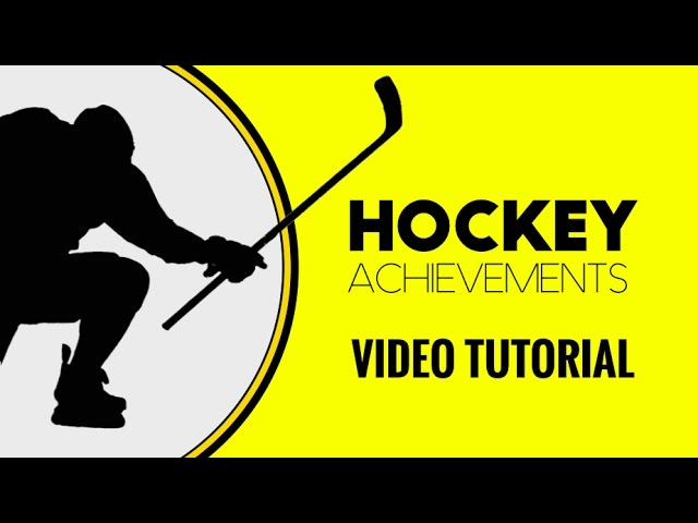 Learn How to Play Hockey Achievements