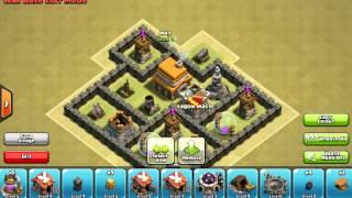 Clash of clans: TH5 hybrid war base HD