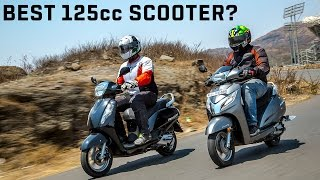 Suzuki Access 125 vs Honda Activa 125 :: Comparison Video Review :: ZigWheels India