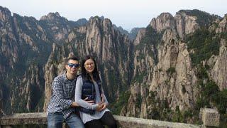 China Vlog: Train to Huang Shan, Fairy Walking Bridge!