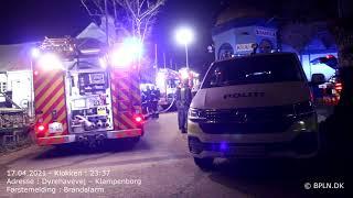 17.04.2021 / Brandalarm / Klampenborg
