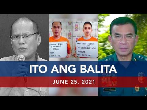 [UNTV]  UNTV: ITO ANG BALITA | June 25, 2021