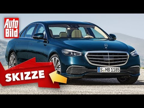 Mercedes S-Klasse (2020): Neuvorstellung - Skizze - Limousine - Infos