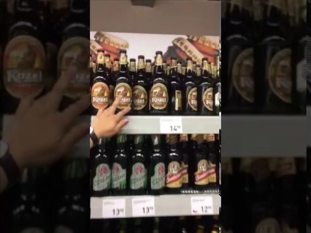 『布拉格超市五大必買推薦商品』