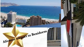 Alicante airport to Benidorm |Family Holidays |Vlog 2