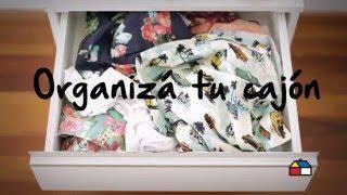 ¿Cómo organizar una Cajonera? Mirá este #Tip - Sodimac Homecenter Argentina