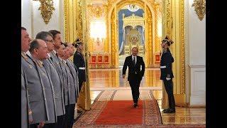 Владимир Путин на приеме в честь Дня Героев Отечества. Прямая трансляция
