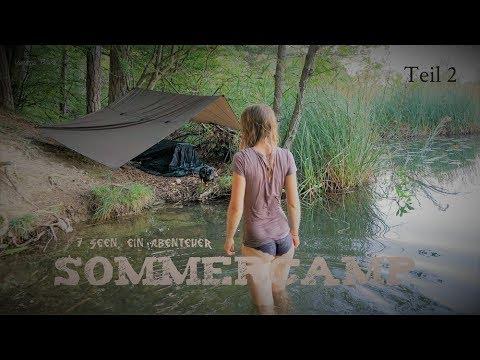 Teil 2 - Wildcampen, Baden, Lagern am Ufer - 7 Seen- 1 Abenteuer - Vanessa Blank - 4K