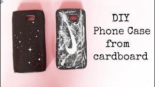 DIY Phone Case From Cardboard