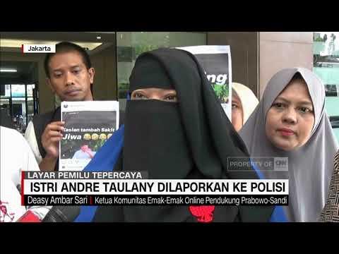 Hina Prabowo di IG, Istri Andre Taulany Dilaporkan Ke Polisi