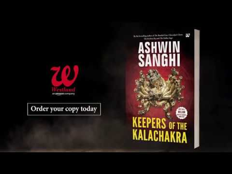 ASHWIN SANGHIS - THE KEEPERS OF THE KAALACHAKRA ( novel )