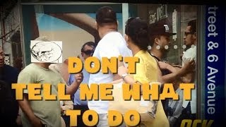 'Don't Tell Me What To Do' Prank