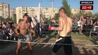 Russian Soldier vs Mexican fighter from Cartel ! MMA !!