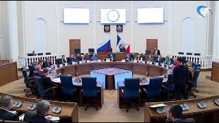 В правительстве области обсудили итоги 2017 года в сферах строительства и ЖКХ