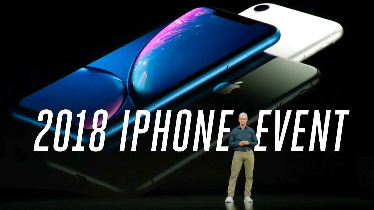 Apple iPhone XS and XR 2018 event in 12 minutes thumbnail