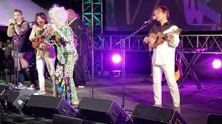 Performance de Cyndi Lauper sur la chanson