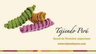 Crochet: Resortes Tejidos