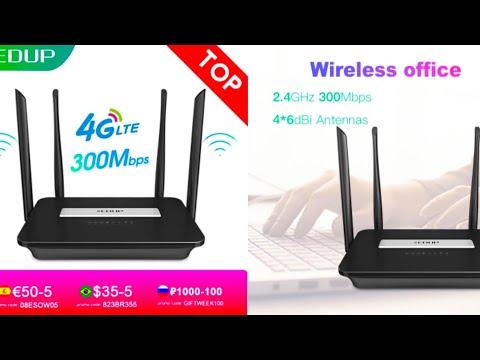 4G WiFi роутер EDUP EP-N9522