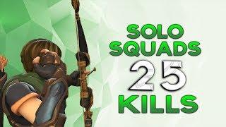 SOLO vs SQUADS 25kills | Realm Royale hunter gameplay