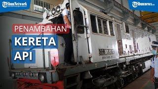 PT KAI Lakukan Penambahan Kereta Api Jarak Jauh