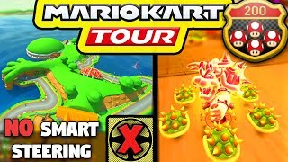 I Attempted 200cc In Mario Kart Tour Without Smart Steering