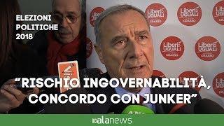 """Grasso: """"Concordo con l'analisi fatta da Juncker"""""""