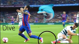 NEYMAR• WORST DIVES AND ACTING• DIVING COMPILATION• 2018