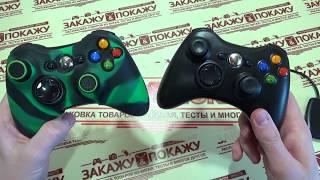 Распаковка и обзор копии беспроводного геймпада Xbox 360 из Китая с Aliexpress