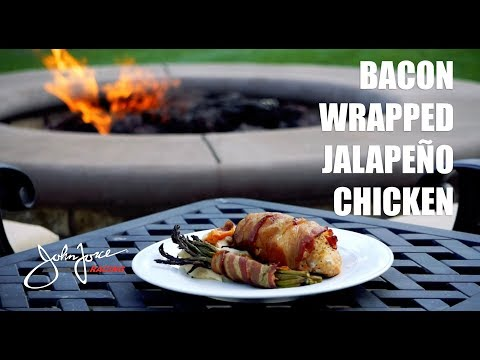 Cooking with Austin Prock - Bacon Wrapped Jalapeño Chicken