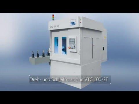 VTC 100 GT vertikale Dreh- und Schleifmaschinen
