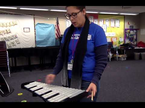 Ms Olah's music class, Essential elements keyboard percussion, #1