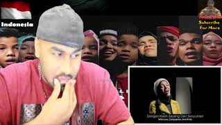 Gambar cover DEEN ASSALAM Cover by GEN HALILINTAR | Fusha Version | INDIAN REACTION TO INDONESIAN VID