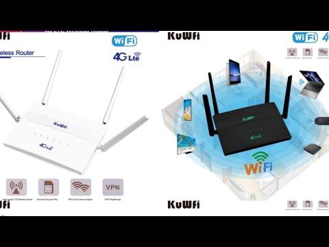 4G LTE WiFi роутер KuWFi C910