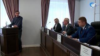 В прокуратуре области обсудили ситуацию с долгами по заработной плате