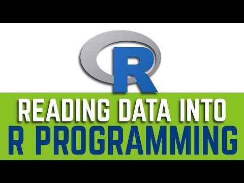 How to Read Data into R Programming Language