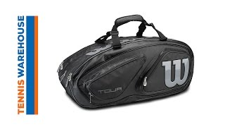 Wilson Tour V 15-Pack Bag video